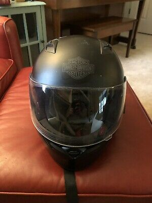 Great Deal!! Harley Davidson: Full Face Helmet Mens Extra Vent With Soft Cover