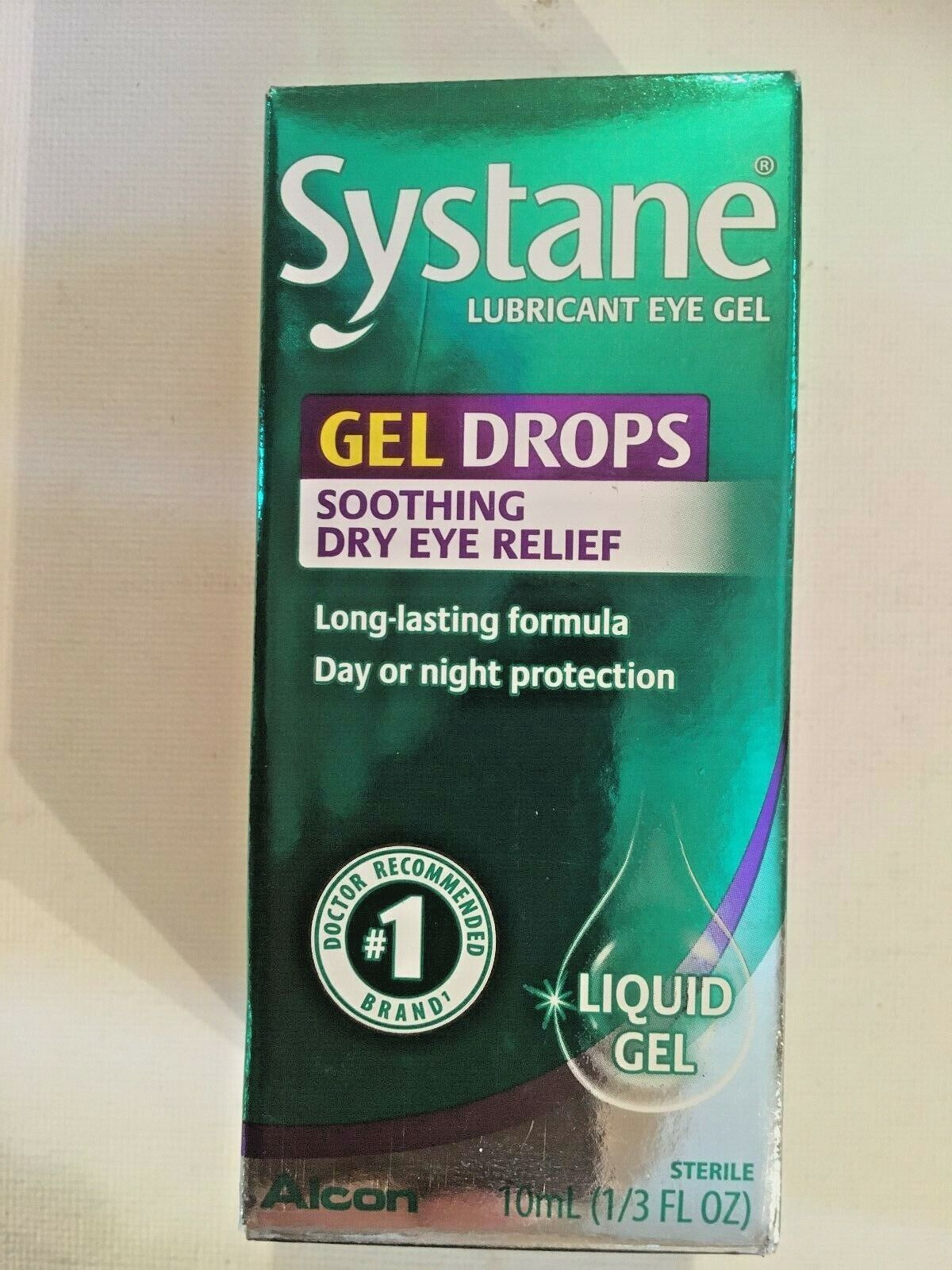 Systane Gel Drops, Anytime Protection 0.33 fl oz