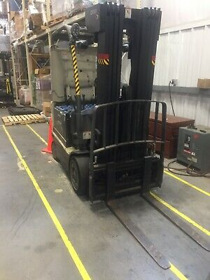 Crown Fc4000 4000 Lbs Capacity 4 Wheel Electric Forklift Charger Inlcuded