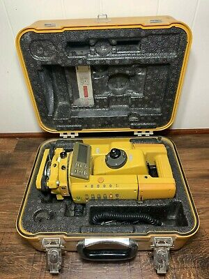 Topcon Gts-301 Total Station With Battery Case And Data Cable