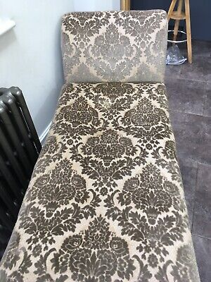 Vintage Old Chaise Longue Left Or Right With Storage
