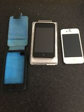 White iPhone 4s 16gb + black iPod touch 32gb 3rd generation Ascot Park Marion Area Preview