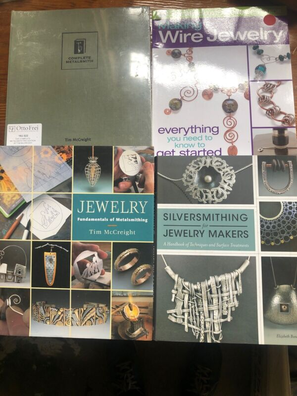 Jewelry And Metalsmithing Books Lot