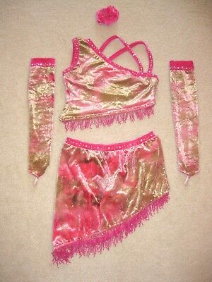 Female Western Costumes (Custom Made Tap Jazz Pageant Western Wear OOC Dance Competition Costume AXS)