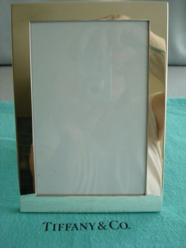 "TIFFANY STERLING SILVER ~ PICTURE FRAME 7 X 5"" ~ BEAUTY!! pouch,box"