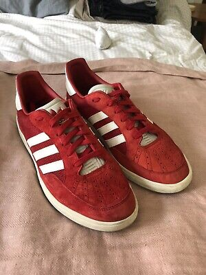 Adidas Originals Suisse Trainers Archive Red Vintage Retro UK Size 10.5