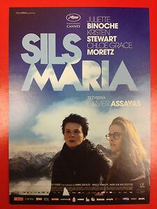 Juliette Binoche Kristen Stewart - Clouds of Sils Maria - Polish promo FLYER - <span itemprop=availableAtOrFrom>Gdynia, Polska</span> - Juliette Binoche Kristen Stewart - Clouds of Sils Maria - Polish promo FLYER - Gdynia, Polska