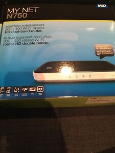 WD My Net N750 router HD double bande