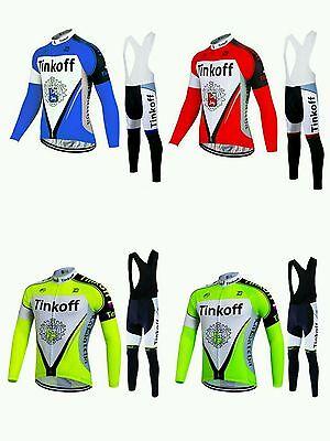 equipacion invierno saxo bank tinkoff maillot culotte mtb ciclismo btt