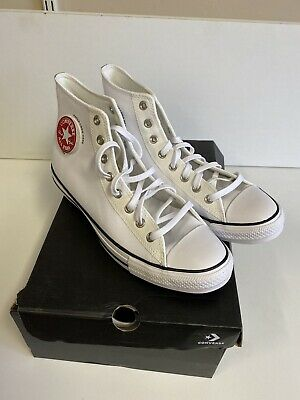 Converse Chuck Taylor All Star High White in Uk 11 BRAND NEW