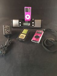 iHome iP16 Portable Speaker Sys iPod/iPhone Dock/Charge & Alarm Clock & iPod