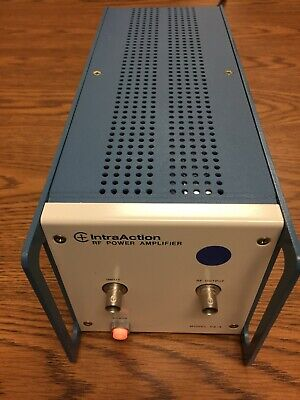 Intraaction Pa-405 Rf Power Amplifier