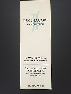 Papaya Body Balm - June Jacobs Spa Collection Papaya Body Balm 7 oz NEW
