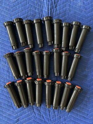 Rain Bird 1804-PRS 4 in. Pop-Up Sprinkler - Lot of 25 Heads + 34 Nozzles - NEW