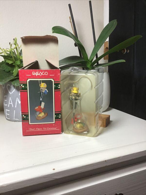 """1990 Enesco Christmas Ornament ~ """" Don"""