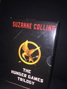 Suzanne collins hunger games trilogy hard cover great condition