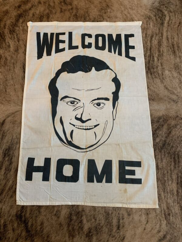 WWII Welcome Home Bob Hope Banner