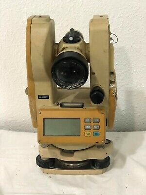David White Dwt-10 Electronic Digital Transit-theodolite With Case - As-is
