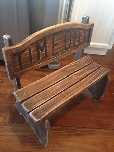 Adorable Children's TIME OUT Wood CHAIR, only $40