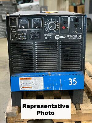 Miller Electric Deltaweld 651 Mig Welder