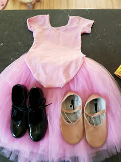 Tap/Ballet shoes Tutu and Skirt