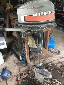 Mariner 30hp outboard.