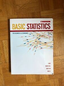 Basic Statistics for Business and Economics 5e