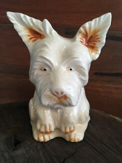 Ceramic Westie, West Highland Terrier vintage figure