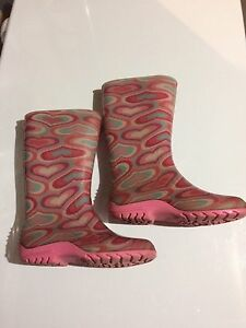 Rubber boots girls size 13