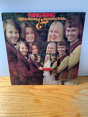 Ring RIng Vinyl Record Bjordn Benny and Agnetha Frida (From ABBA) LP Album