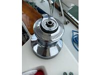 LEWMAR OCEAN 66 Chrome 2 speed self tailing winches (2 available)
