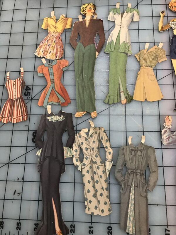 vintage movie star paper dolls