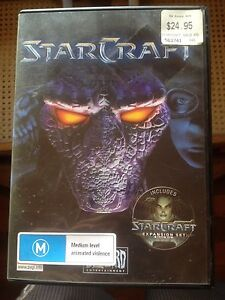 Starcraft PC game plus expansion Windsor Brisbane North East Preview