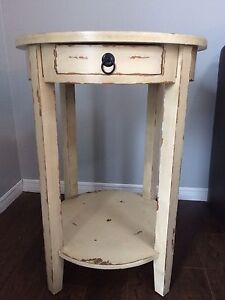 Rustic style side tables