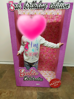 Toddler Barbie Box