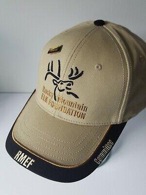 Rocky Mountain Elk (Rocky Mountain Elk Foundation Hat w/ Pin Looks NEW Committee Member)