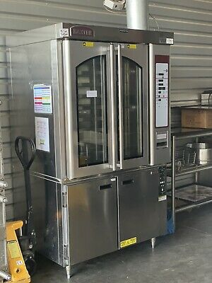Baxter Ov310g Mini Rotating Rack Convection Oven With Proofing Base Excellent