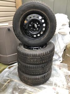 Winter hero snow tires. Made by infinity tire 195-65R15
