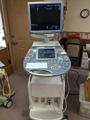 Ge Voluson E8 Bt13 Ultrasound - Refurbished 4 Probes