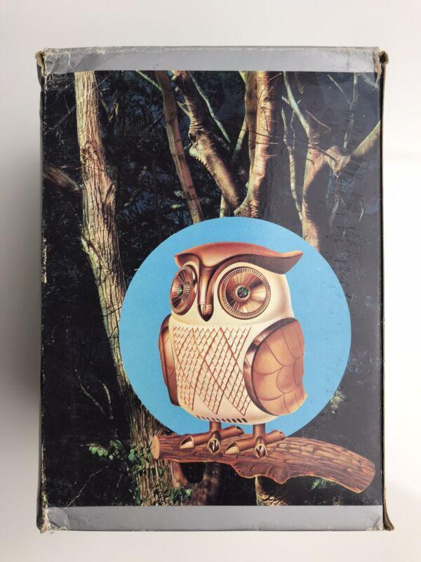Vintage Midnight Owl Solid State Radio 1960