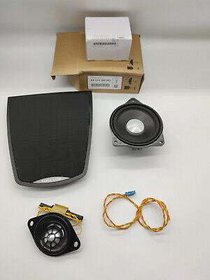 Bmw genuine front dashboard mid range hifi speaker harman kardon grill tweeter