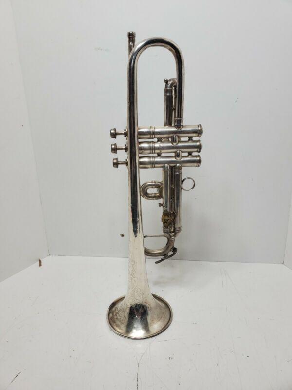 1917 J. W. York & Sons cornet serial #49492 Grand Rapids, Mich
