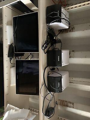 Two Posbank Apexa G Pos System Screens Three A11 Standard Printer Working Repo