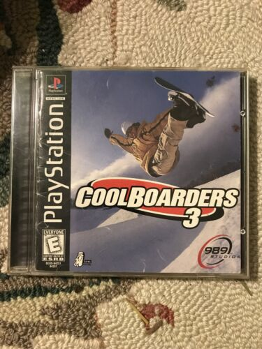 Cool Boarders 3 Sony PlayStation 1, 1998  - $0.99