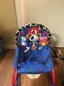 Fisher-Price Farm Animals Baby's Bouncer infant rocker chair