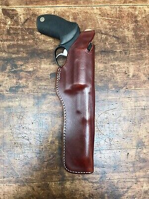 """Taurus Judge with 3"""" cylinder and 6.5"""" Barrel  Leather Holster #43997"""