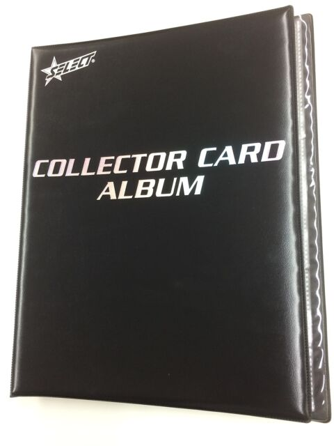 Select Generic Collector Card Album(Inc built in 24 pages)-Suit NRL card