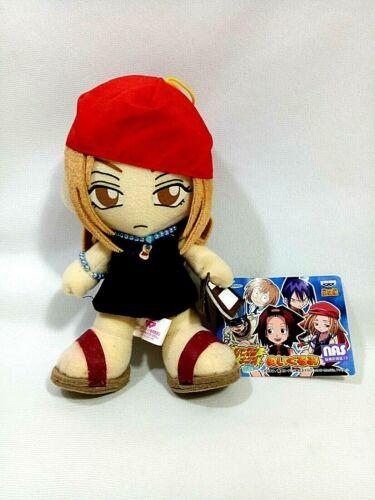 "RARE Shaman King ANNA KYOYAMA 7"" Plush Doll UFO Prize Japan Only BANPRESTO 2001"