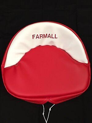 Embroidered Farmall Seat Cushion H M 300 450 Cub. Farmall Seat Cushion