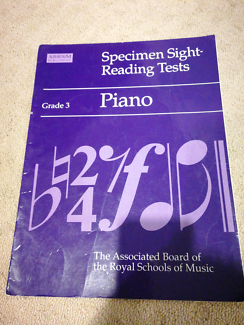Specimen sight reading tests, Grade 3 piano